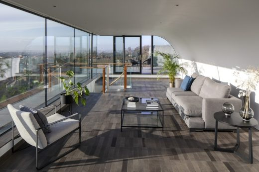 Hampstead penthouse property in North London