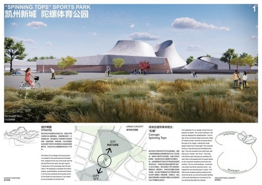 Kaizhou New City International Young Designer Competition winning design