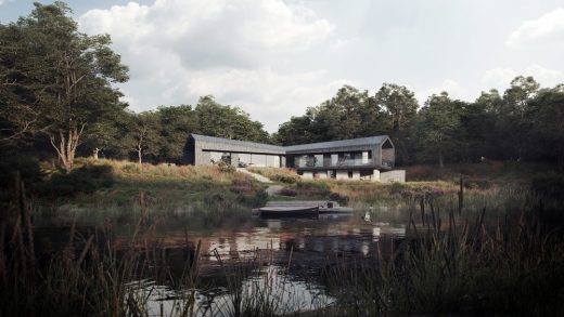Kite House on River Avon by AR Design Studio