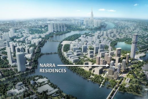 Narra Residences at Empire City in Ho Chi Minh City