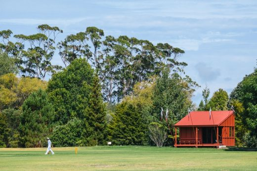 Point Wells Cricket Club near Auckland NZ