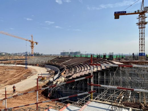 Quzhou Sports Campus Stadium construction China