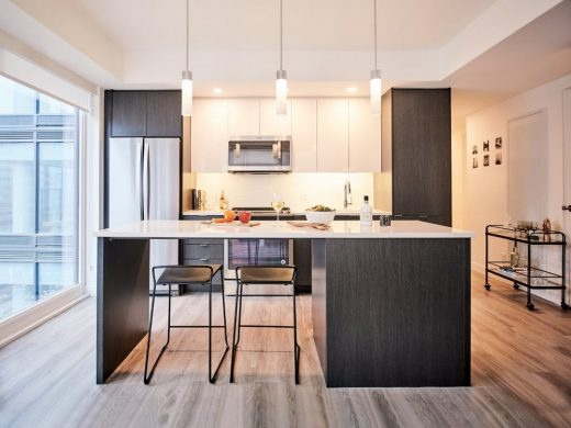 SODO Residences Calgary kitchen interior