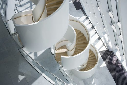 Staircase at One Bank Street London