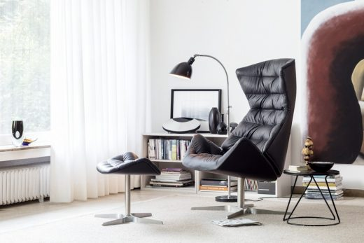 reclining 808 Lounge chair by Formstelle