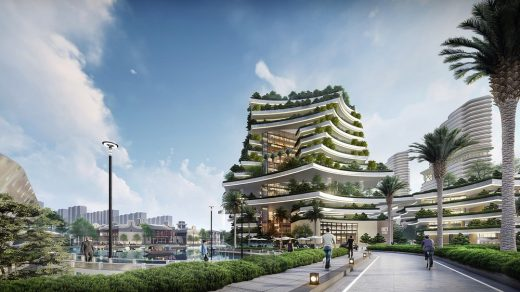 Zhongshan OCT Harbour development Guangdong masterplan