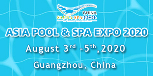 15th Asia Pool & Spa Expo, China event 2020
