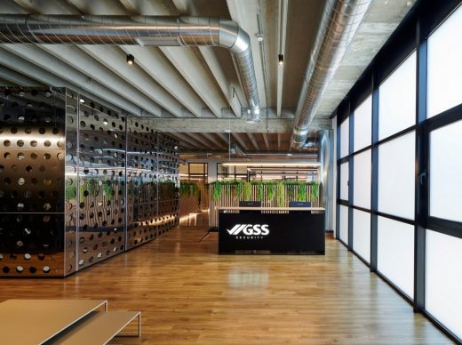 GSS Security Mataró office design Barcelona