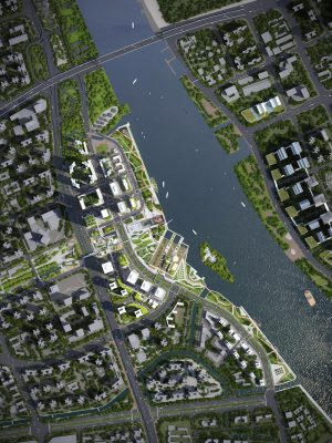 Guangzhou Shipyard Master Plan Liwan District China