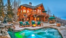 Mitt Romney's Utah Mountain Ski Home USA