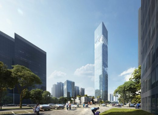 Pingshan New District buildings OCT gateway development