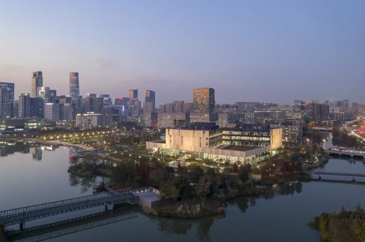 Ningbo New Library Building in China by SHL