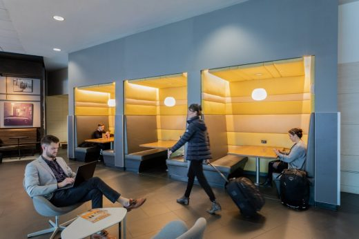 SFO International Terminal Passenger Experience design