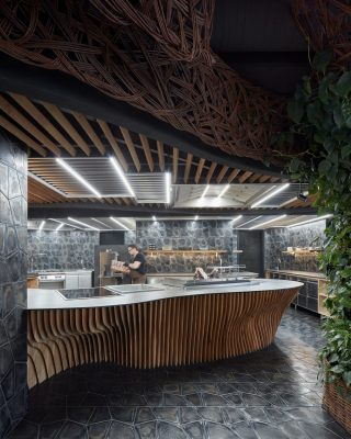 STK Restaurant in Olomouc design by Komplits