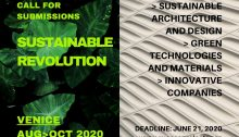 Sustainable Revolution Competition 2020