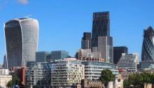 Walkie Talkie Center City of London Building