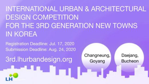 3rd Generation New Towns in Korea Competition