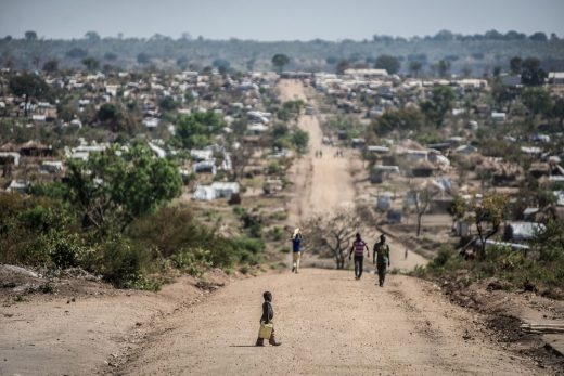 Bidibidi Refugee Settlement is a refugee camp in northwestern Uganda