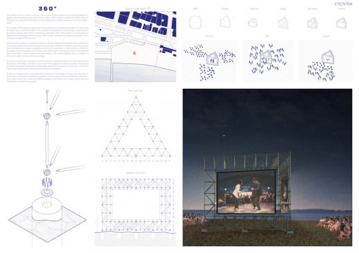 Cannes Temporary Cinema Architectural Contest