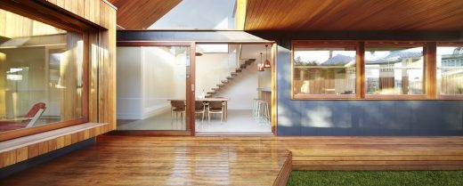 Clifton Hill residence design by Julie Firkin Architects