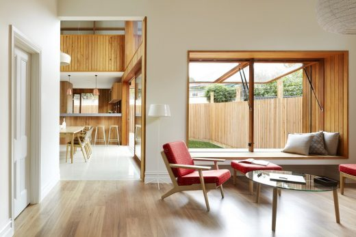 Clifton Hill property design by Julie Firkin Architects