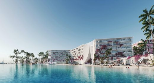 Flamenca at The World Islands in Dubai by UNICA Architects