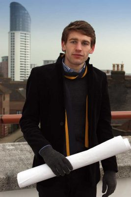 Niall Bird, student at the University of Portsmouth