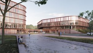 Opticum of Leibniz University Hanover building