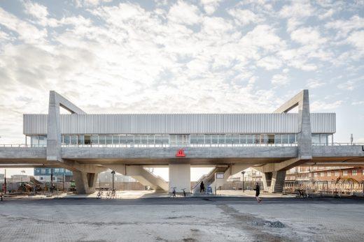 Orientkaj Station Copenhagen building by Cobe