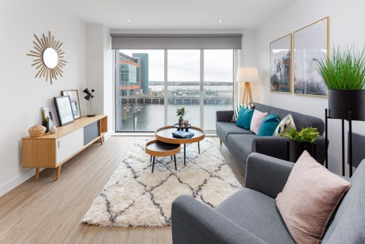 Plaza 1821 Liverpool Waters living space