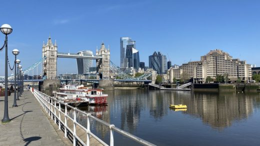 Reimagining Butler's Wharf London River Thames public realm