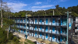 Sai Kung Outdoor Recreation Centre Temporary Quarantine Facilities in Hong Kong