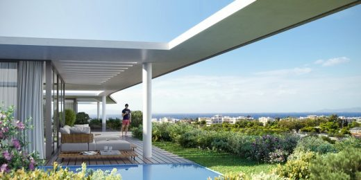 Τhe Wave residential building Glyfada Golf Club Athens