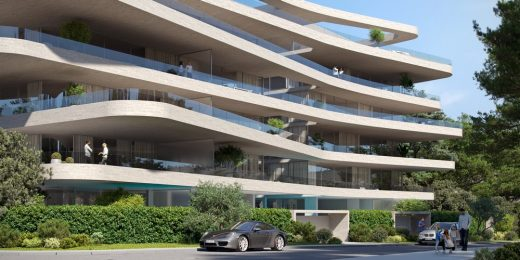 Τhe Wave - Residential Building, Glyfada Golf Club