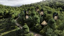 Tree Houses West Virginia United States