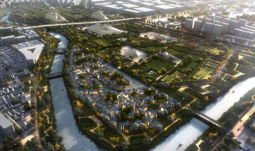 Yangliuqing National Grand Canal Culture Park by Martha Schwartz