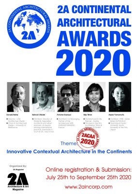 2A Continental Architectural Awards 2020