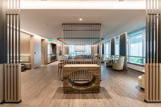 Aedas Singapore office interior design