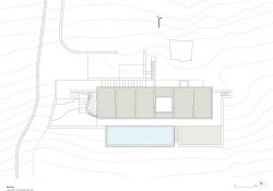 Andros summer home roof plan