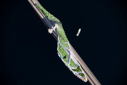 Van Alen Institute Reimagining Brooklyn Bridge Competition design entry
