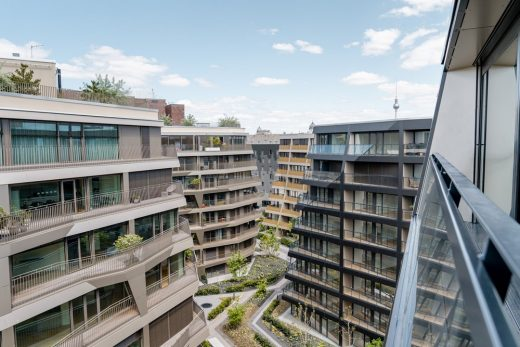 Charlie Living Berlin Apartments design by GRAFT