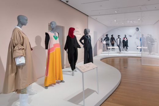 Contemporary Muslim Fashions Exhibition at the Cooper Hewitt, Smithsonian Design Museum