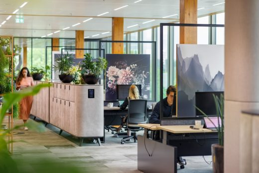 EDGE Amsterdam New Normal Office Design