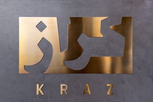Kraz Restaurant Sharjah, UAE design by architects H2R Design