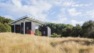 Longbush Ecosanctuary Welcome Shelter Gisborne