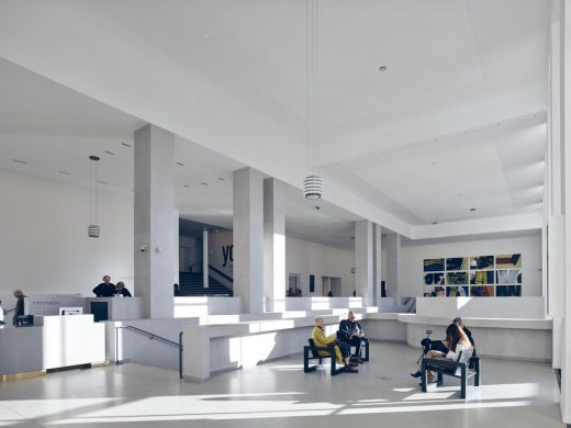 Musée d'Art Moderne de Paris building interior design by h2o architectes
