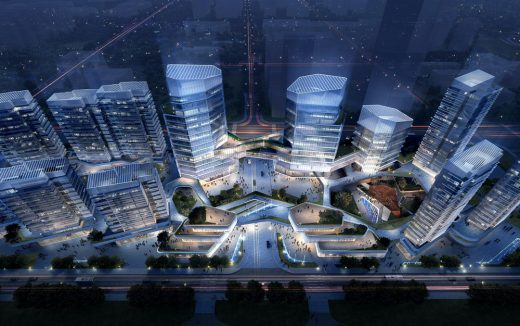 Ningbo Yongjiang Innovation Centre building