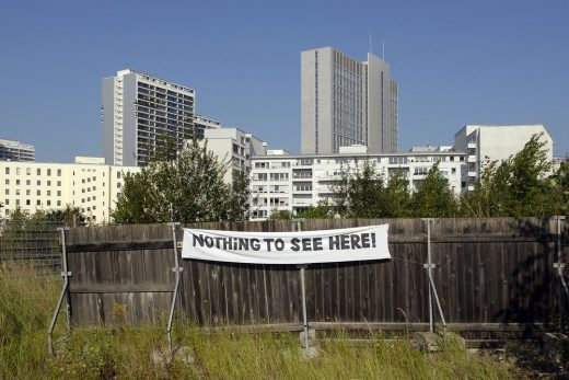 Nothing to see here, Berlin