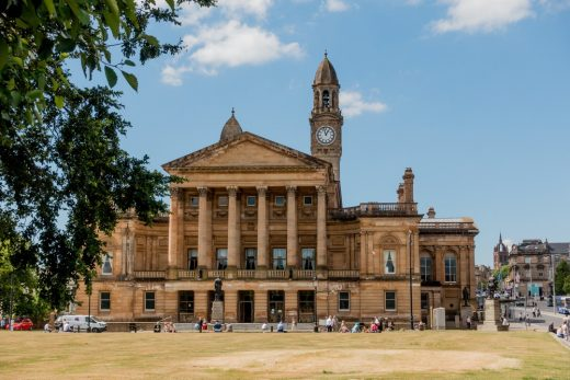 Paisley Town Hall building