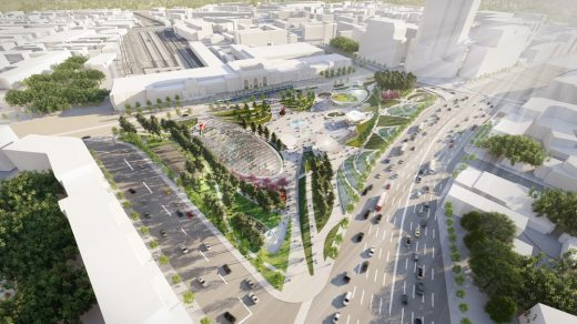 Paveletskaya Plaza in Moscow Landscape Urbanism and Placemaking